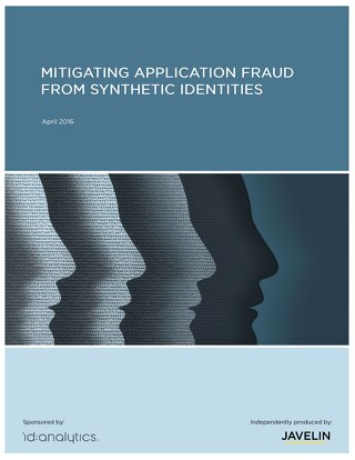 Mitigating Application Fraud