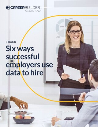 6 ways succesful employers use data to hire_CareerBuilder_eBook