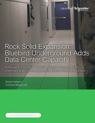 [Case Study] Rock Solid Expansion: Bluebird Underground Adds Data Center Capacity