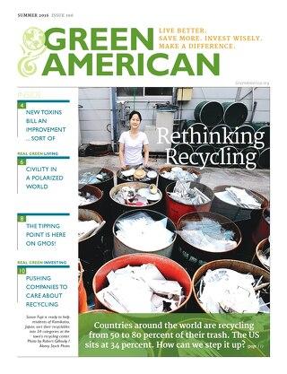 Green American #106, Summer 2016
