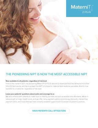 MaterniT 21® PLUS provider brochure