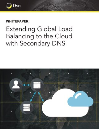 Extending Global Load Balancing to the Cloud with Secondary DNS