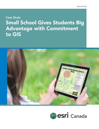 Small School Gives Students Big Advantage with Commitment to GIS
