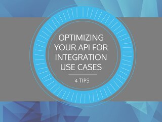 Optimizing APIs for Integration Use Cases - All About APIs 2016