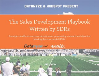 The Sales Development Playbook Written by SDRs