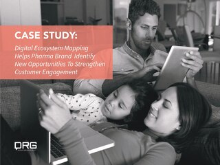 Case Study: Pharma Brand Strengthens Patient Engagement with Digital Ecosystem Mapping