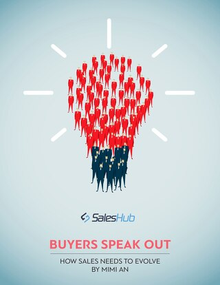 Buyers Speak Out: How Sales Needs to Evolve
