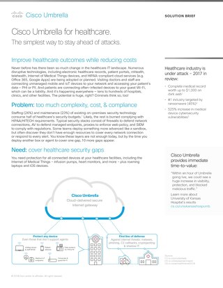 Cover your healthcare security gaps