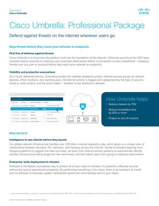 Cisco Umbrella Professional
