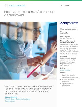 Octapharma Routs Out Ransomware
