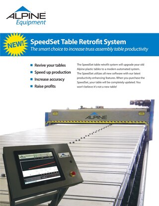 SpeedSet Table Retrofit System