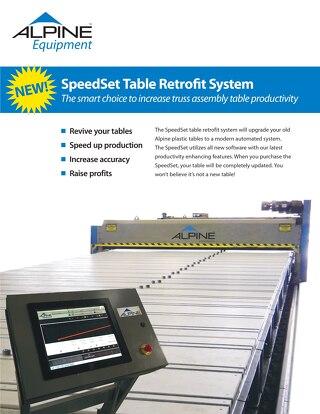 SpeedSet Table Retrofit System