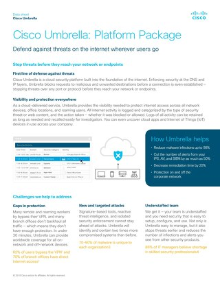 Cisco Umbrella Platform