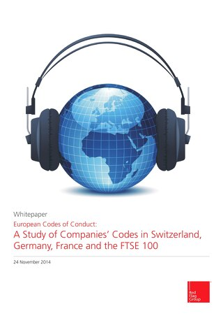 European codes of conduct