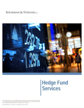 Hedge Fund Services brochure