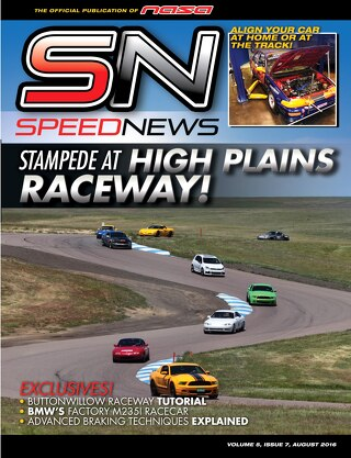 Speed News August 2016