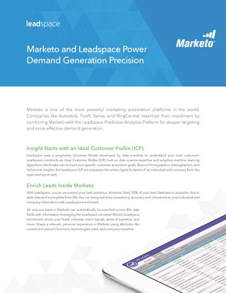 Leadspace for Marketo