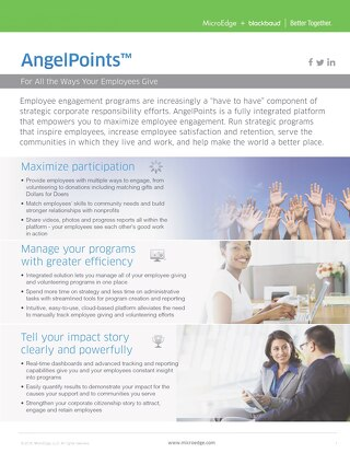 AngelPoints Overview