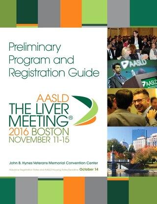 Liver Mtg 16 Prelim. Program & Registration Guide