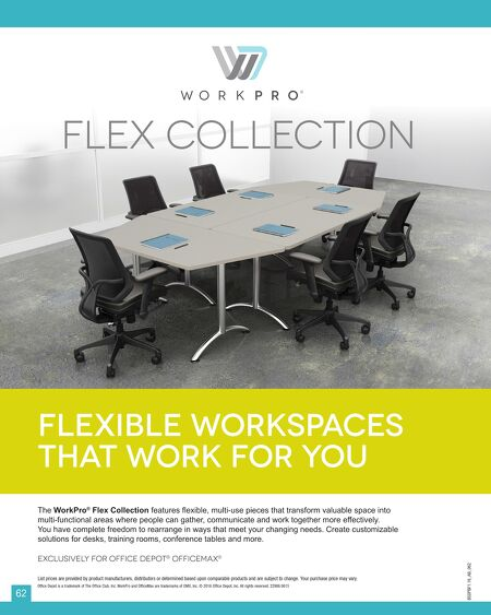 OfficeMax Furniture Exclusive Brand Catalog - Office max conference table