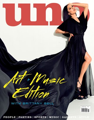 UNO ISSUE 37 Art + Music with Brittany Bell
