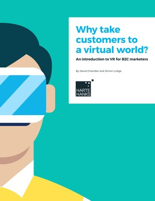 Why take customers to a virtual world?  An introduction to VR for B2C marketers