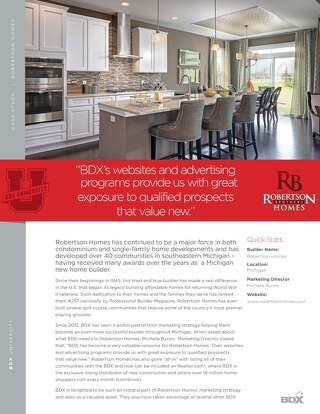 CASE STUDY: Robertson Homes
