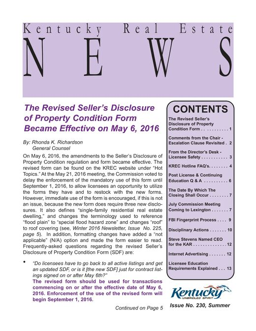 2016 KREC Newsletter 2 - Summer (1)