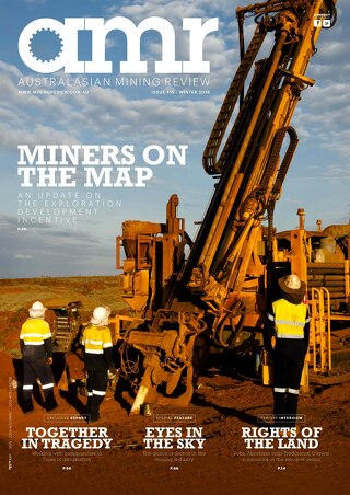 Australasian Mining Review - Issue 15 - Winter 2016