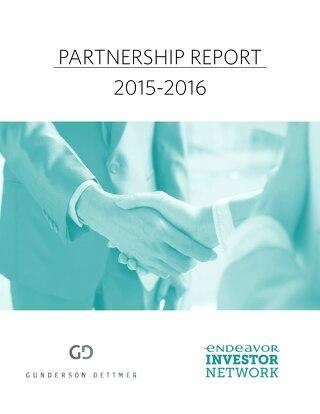 Gunderson Dettmer Sponsorship Report