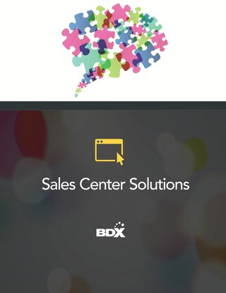 Sales Center Solutions