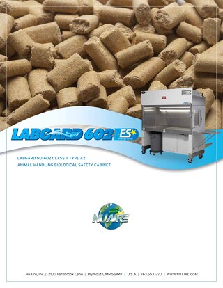 [Brochure] LabGard NU-602 Animal Handling Class II, Type A2 Biosafety Cabinet