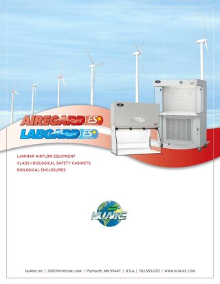 [Brochure] Laboratory and Pharmacy Laminar Airflow Products