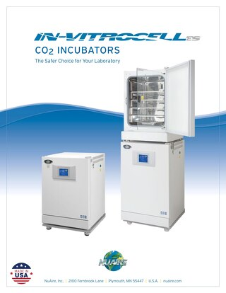 [Brochure] In-VitroCell CO2 Incubator Product Brochure
