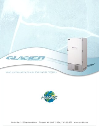 [Brochure] Glacier NU-9728 Polar Edition Ultralow Freezer