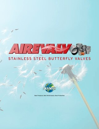[Brochure] AireValv Butterfly Valves for Exhausting