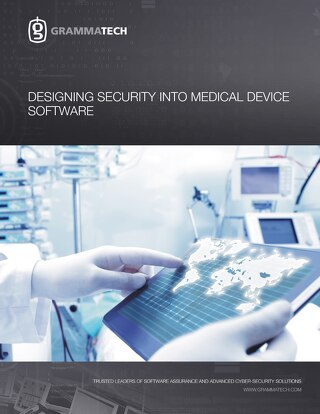 Designing Security into Medical Device Software
