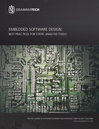 Embedded Software Design: Best Practices for Static Analysis Tools