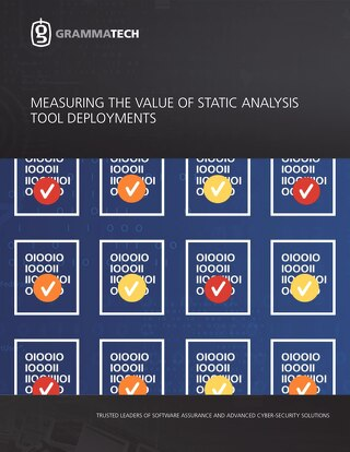 Measuring the Value of Static Analysis Tool Deployments