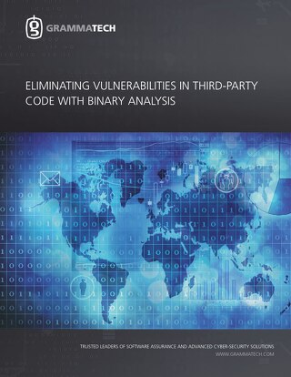 Eliminating Vulnerabilities in Third-Party Code with Binary Analysis