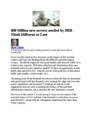 400 Million new servers needed by 2020_A Data Center on Every Corner (4)...