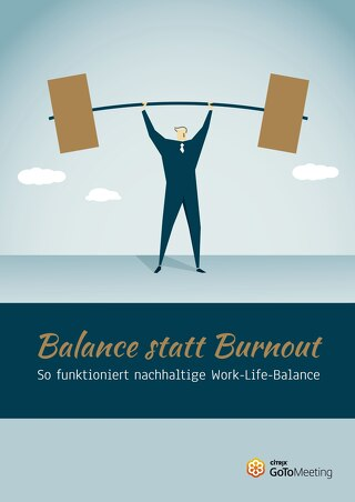 Balance statt Burnout
