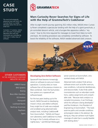NASA: Curiosity Rover