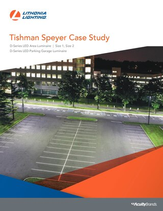 Tishman Speyer Upgrades Their Office Parking Lot Lighting