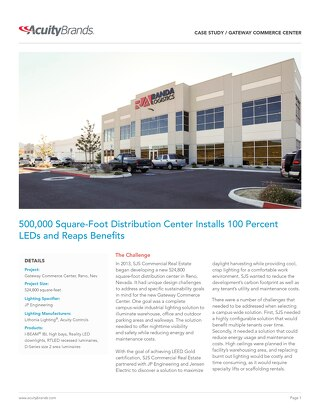 Install Warehouse LED Lighting Fixtures [Case Study]