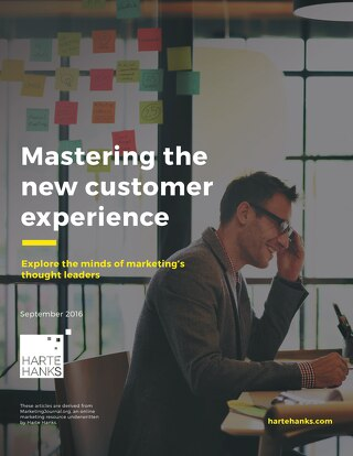 Mastering the New Customer Experience