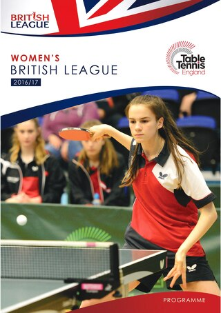 Women's British League 2016-17