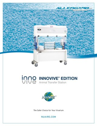 [Brochure] AllerGard NU-S620M/R Innovive Edition Animal Transfer Station