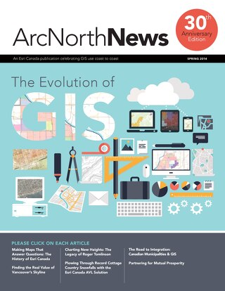 Volume 17 No. 1 - The Evolution of GIS (Spring 2014)