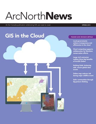 Volume 16 No. 1 - GIS in the Cloud (Spring 2013)